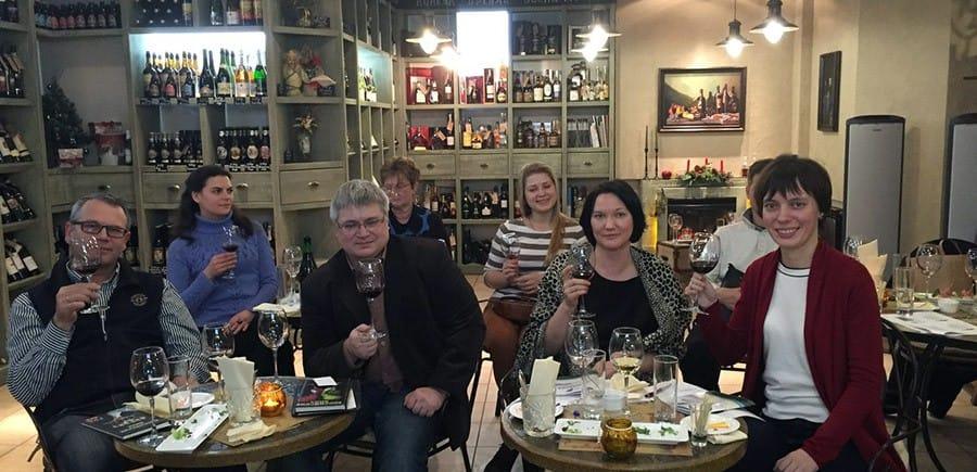 Дегустация вин российских производителей