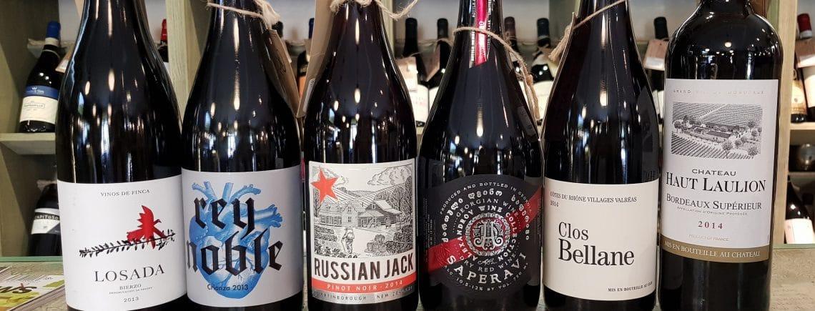новинки красного вина