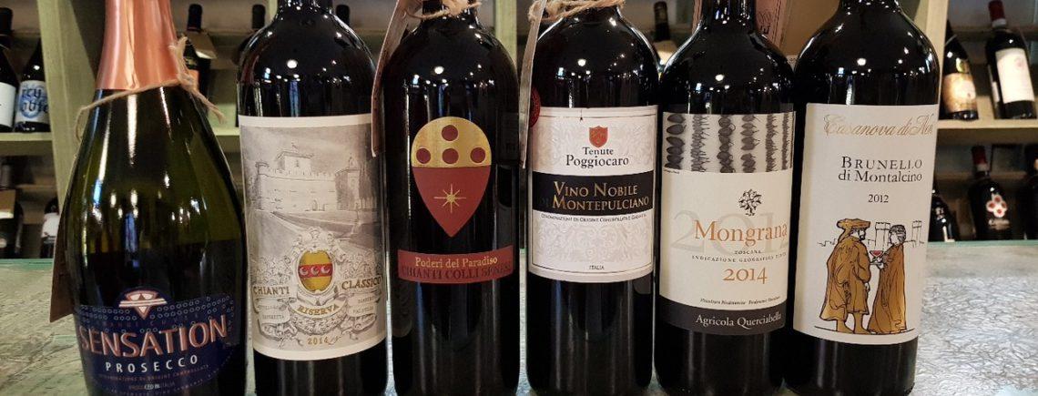 18 октября в 19.30 - самые знаменитые и вкусные вина Тосканы за один вечер