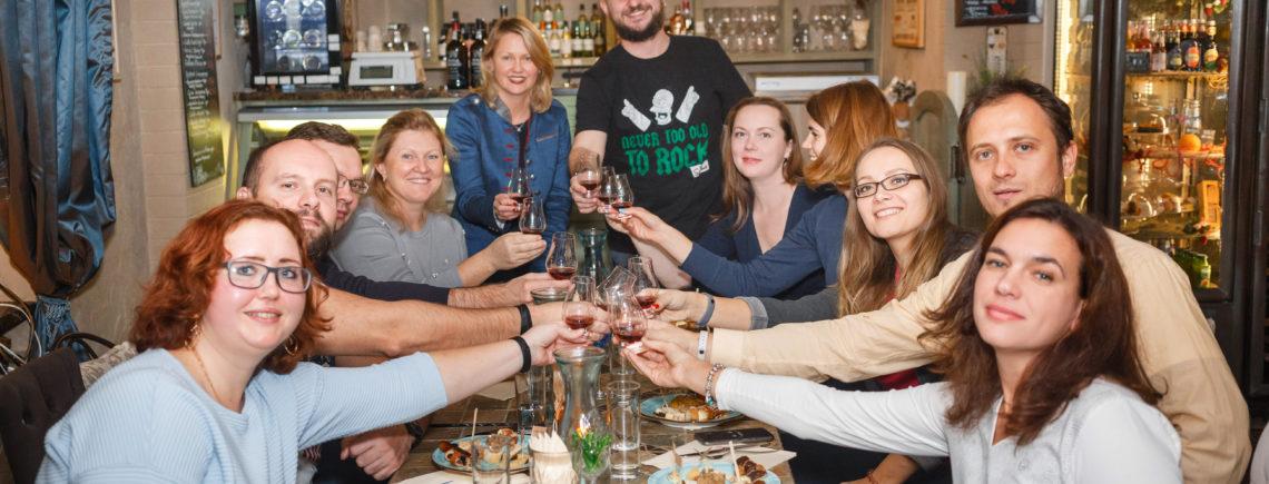 6 декабря 19.30 - дегустируем игристые вина!