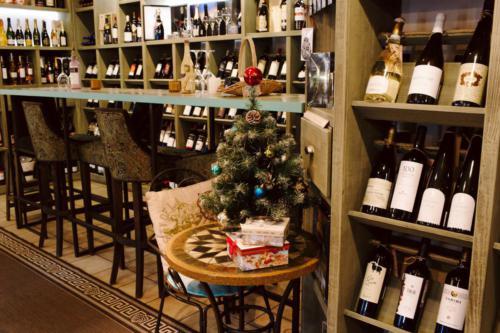 интерьер Винотеки Classico, Новый год