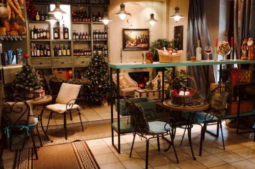 винотека, место дегустаций