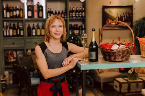 в винотеке Classico, Санкт-Петербург