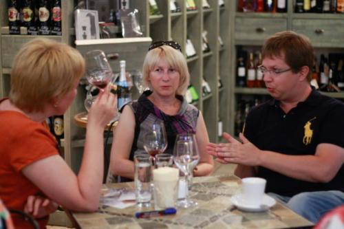 фестиваль винных баров, встречи