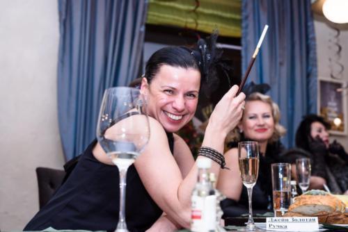 Встреча друзей в винотеке